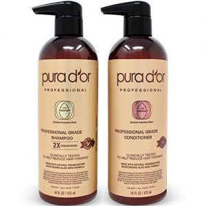 PURA D'OR Professional Grade Biotin Anti-Hair Thinning