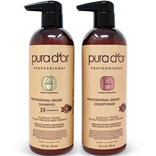 PURA D'OR Professional Grade Biotin Anti-Hair Thinning