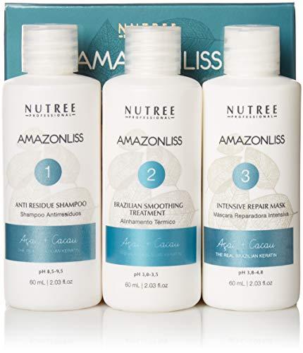 Amazonliss Keratin Smoothing Treatment Hair Straightening Set