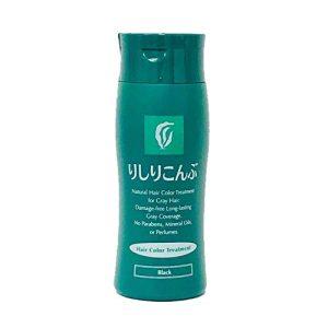 Rishiri Kombu Hair Color Treatment 200g Black