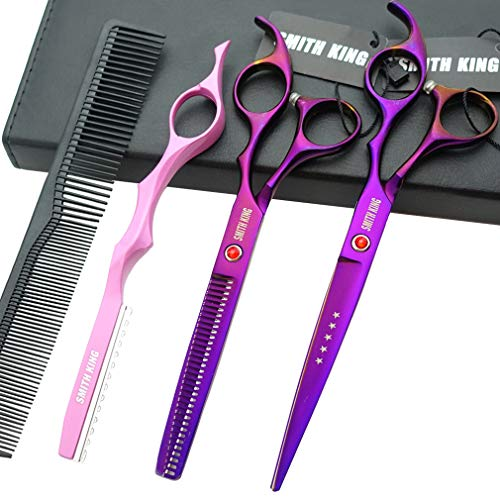 7.0 Inches Professional hair cutting thinning scissors set