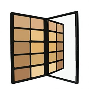 Cream Foundation Palette by Sacha Cosmetics, Best Pro Natural Matte Makeup