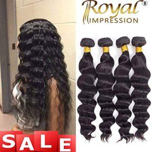 Brazilian Virgin Hair Loose Wave 4 Bundles 10A Grade Unprocessed Virgin