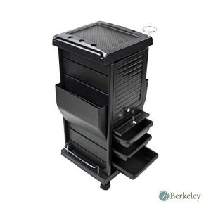 Claire Lockable Salon Trolley Cart Perfect for Hair Salon