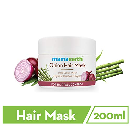 Mamaearth Onion Hair Mask For Dry & Frizzy Hair