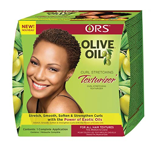 Organic Root Stimulator Olive Oil Curl Stretching Texturizer
