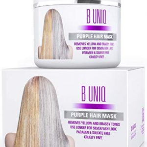 Purple Hair Mask For Blonde, Platinum & Silver Hair - Banish Yellow Hues