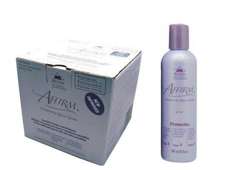 Avlon Affirm Sensitive Scalp Relaxer 9 Pack + Affirm Protecto