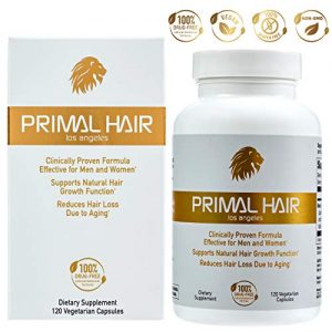 PRIMAL HAIR: Hair Growth & Hair Loss Treatment, Hair Thinning Supplement