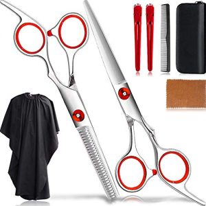 8Pcs Thinning Shears Grooming Kit/Hair Cutting Scissors Set
