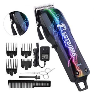 Professional Cordless Hair Clippers for Men BESTBOMG Rechargeable
