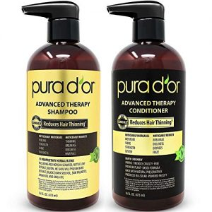 PURA D'OR Advanced Therapy System - Biotin Shampoo & Conditioner