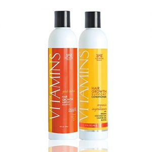 Nourish Beaute Vitamins Premium Shampoo and Conditioner
