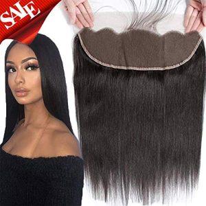 Brazilian Virgin Human Hair 100% Unprocessed Silky Straight lace Frontal