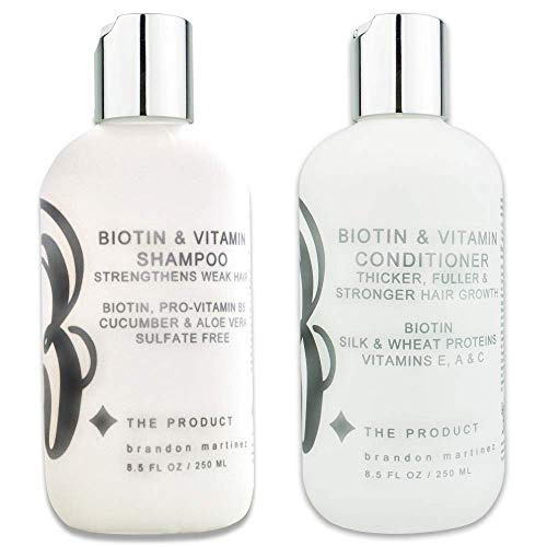 Biotin Vitamin Hair Growth Shampoo & Conditioner SET