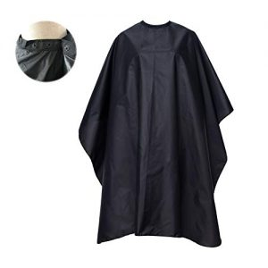 FocusOn Professional Barber Cape, Salon Cape with Snap Closure for Hair Cutting