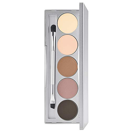 Colorescience Brow Kit, Mineral Eyebrow Makeup Powder & Shaping Brush