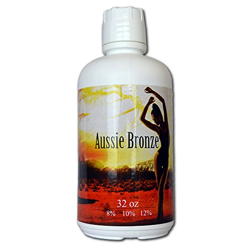 Aussie Bronze 12% Dark Sunless Airbrush Spray Tanning Solution Gallon