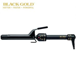 Hot Tools Professional 1 Inch Black Gold Curling Iron/Wand Model