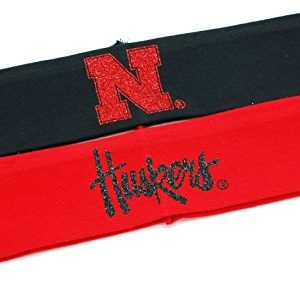 UNIVERSITY OF NEBRASKA HEADBANDS - NEBRASKA HUSKERS HEADBANDS