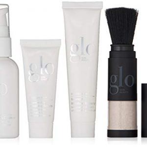 Glo Skin Beauty 4-Piece Travel Skincare Set for Treating Sensitive Skin