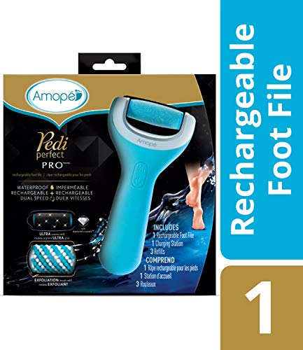 Amope Pedi Perfect Wet & Dry Foot File, Callous Remover for Feet