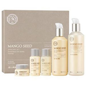 [THEFACESHOP] Mango Seed Skincare Set, Deep Moisturizing and Anti Wrinkle