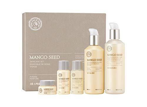 [THEFACESHOP] Mango Seed Skincare Set, Deep Moisturizing and Anti Wrinkle