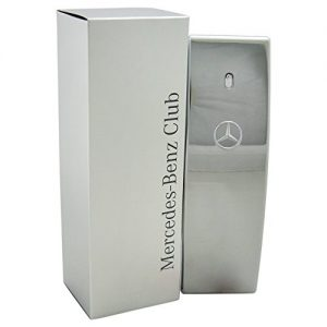 Mercedes Benz | Club | Eau de Toilette | Spray for Men | Woody Aromatic Scent