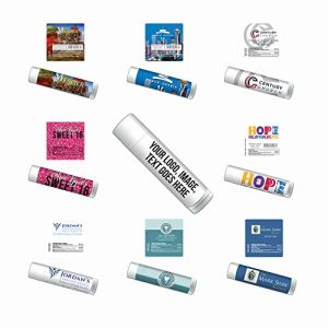 Personalized Lip Balm-Bulk 100-Piece Pack-Free Design Assistance