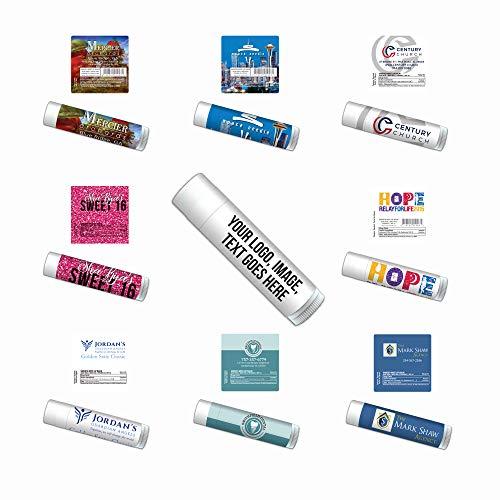 Personalized Lip Balm-Bulk 100-Piece Pack-Free Design Assistance