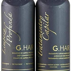 G.Hair Moroccan Smoothing Treatment Kit (Step 1+2) - 1 Liter