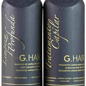 G.Hair Moroccan Smoothing Treatment Kit (Step 1+2) - 1 Liter