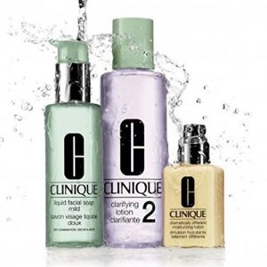Clinique 3 Steps system for Dry / Dry Combination Skin Set