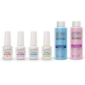 Gelish MINI Complete Basix Gel Nail Polish Prep Essentials