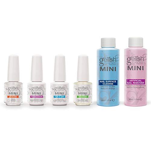 Gelish MINI Complete Basix Gel Nail Polish Prep Essentials