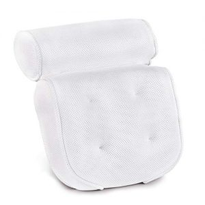 Bath Pillow-Luxury Spa Bathtub Cushion Head,Neck,and Shoulder Support