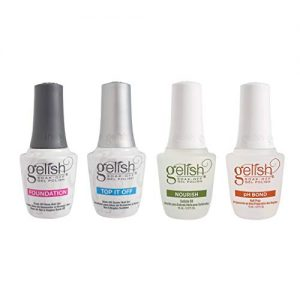 Gelish Fantastic Four Essentials Collection Soak Off Gel Nail Polish Kit