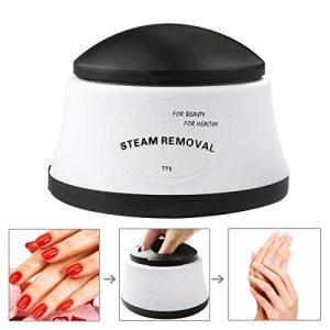 Gel Nail Polish Remover Tool Steamer Machine Portable Electric Nail Art
