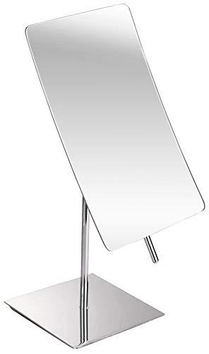 3X Magnified Premium Modern Rectangle Vanity Makeup Mirror 100% Guarantee