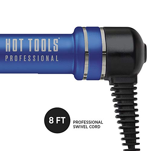 HOT TOOLS Professional Radiant Blue Titanium Curling Iron/Wand