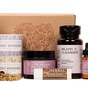 Love Your Skin, Luxury Natural Skincare Gift Set, Transformative Aromatherapy