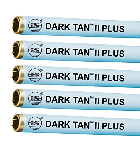 Wolff Dark Tan II Plus F71 100W Bi Pin Tanning Lamp