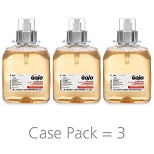 GOJO Luxury Foam Antibacterial Handwash, Fresh Fruit Fragrance
