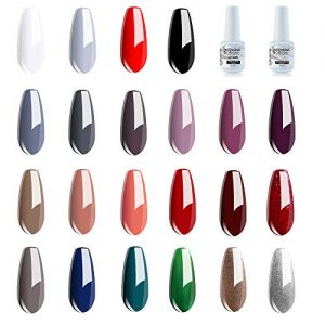 Vishine Gel Nail Polish Set - 22 Classic Color Gel Nail Polish