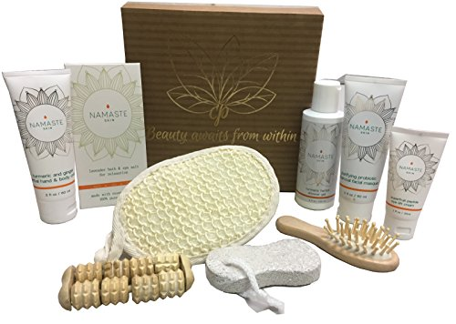 Mothers Special Day! Luxury Vegan Skin Care Collection Home Spa Bath