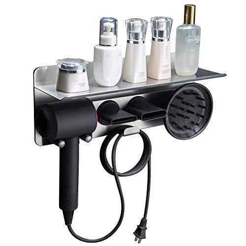 Dyson Hair Dryer Wall Mount Holder, Aluminum Alloy Wall Bracket Holder