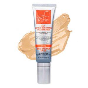 """Suntegrity - """"5 in 1"""" Natural Moisturizing Face Sunscreen"""