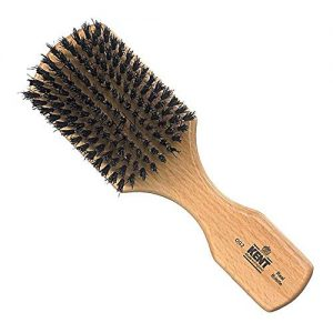 Kent OG2 Rectangular Men Club Beech Wood Natural Black Bristle