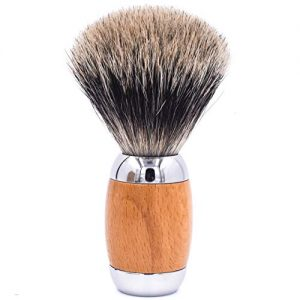 Taconic Shave's Extra Dense 100% 3-Band Pure Badger Luxury Shaving Brush